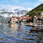 Morning Clouds over Perast thumbnail