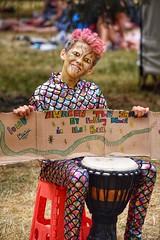 Young entrepreneur! (Nina_Ali) Tags: womadfestival2018 womad child festival charltonpark malmesbury england musicfestival drum