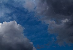 CLOUDS 2 (katyearley) Tags: 55mm t6 rebel canon texas day rain storm contrast light blue grey dark clouds