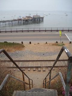 A Capitola Walk along the old Davenport Line