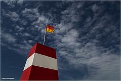 Life Guard (geka_photo) Tags: gekaphoto lakolk dänemark röm rømø strand beach wolken himmel