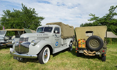 1941 USN Chevrolet Pick-Up Truck (Falcon_33) Tags: wwii ddayfestival2017 normandie carentan coutance warrelics war reenactment france french secondeguerre variosonnar variotessartfe1635mmf4zaoss sonyalpha7mkii dday débarquement chevrolet