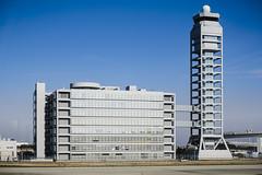 kansai international airport (Flutechill) Tags: osaka kansaiinternationalairport airplane architecture tower city cityscape travel