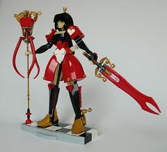 Queen of Hearts ~ Heroic Spirit (LegoWyrm) Tags: lego queenofhearts redqueen alice