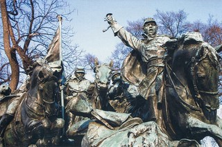 Washington DC -  Cavalry Group - Part of the Grant Memorial