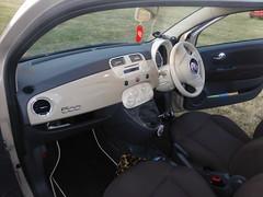 Fiat 500 (2014) (andreboeni) Tags: car automobile cars automobiles voitures autos automobili voiture auto fiat 500 cinquecento dashboard fascia interior retro