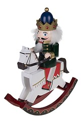 Decorative King Nutcracker Rocking Horse Ornament (mywowstuff) Tags: gifts gift ideas gadgets geeky products men women family home office