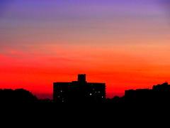 New York Sunset (dimaruss34) Tags: newyork brooklyn dmitriyfomenko image sky clouds sunset building windows greece antiparos resort beachhouseresort trees beach