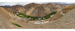 Lamayuru Panorama (ZeePack) Tags: panorama lamayuru ladakh leh vista monastery mountains hills wideangle lamayouro village jammukashmir canon 5dmarkiv milestoneenterprise milestoneenterprisein road mountain landscape mountainside