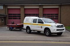 Humberside - YX11OJV - Bransholme - Boat Unit (matthewleggott) Tags: humberside fire rescue service engine appliance yx11ojv toyota water truckman boat bransholme l4v