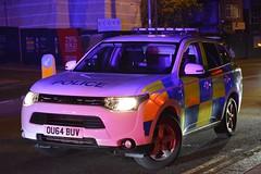 OU64 BUV (S11 AUN) Tags: hertfordshire herts police mitsubishi outlander 4x4 anpr dogsection dog unit response car dsu policedogs 999 emergency vehicle ou64buv