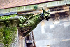 St. Remy church (Yuri Rapoport) Tags: 2015 dieppe seinemaritime church stremychurch paysdecaux normandy france gargoyle