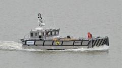 Diveco 5 (1) @ Gallions Reach 14-08-18 (AJBC_1) Tags: riverthames gallionsreach northwoolwich newham londonboroughofnewham eastlondon london england greatbritain unitedkingdom gb uk vessel boat landingcraft diveco5 workboat ©ajc ajbc1 nikond3200 dlrblog