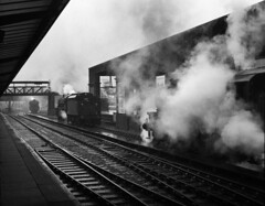 3 Black 5s at Chester. (ralph.ward15) Tags: steam chester black5 1967