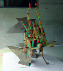 Plow Ploeg HNI Rotterdam 3D (wim hoppenbrouwers) Tags: plow ploeg hni rotterdam 3d anaglyph stereo redcyan