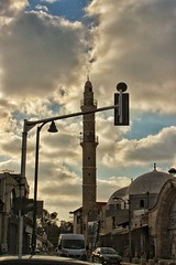 Old Jaffa (Benjamin Flrs) Tags: oldjaffa yafo israel sunset sunrays mosque mesquita telaviv trip atardecer canon canon700d canont5i amateurphotography amateur