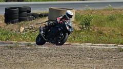 7D2_4204 (Holtsun napsut) Tags: holtsu holtsun napsut ajoharjoittelu motorg kemora moottoripyörä motor bike drive driver moto motorrad eos7dmk2 ef100400mk2 race track suomi finland ajo harjoittelu ride training motorcycle
