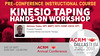 ACRM Pre-Conference Instructional Course: IC6: Kinesio Taping Hands-on Workshop (415461)