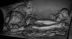 Avignon (bobbex) Tags: france avignon bw blackandwhite blackwhite religious christian christ catholicism statue