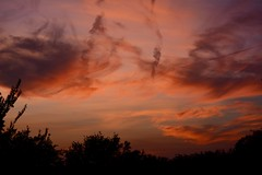 Summer Sunset (Kreative Capture) Tags: sunset sky clouds colorful coulors pretty night texas crazytuesdaytheme summer cloud outside evening 7dwf nikkor nikon