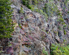 Colorful Rock (augphoto) Tags: augphotoimagery blueridgeparkway mountains nature outdoors rocky trees sylva northcarolina unitedstates