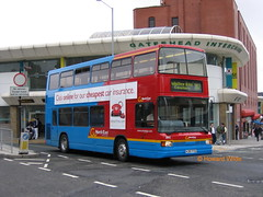 Go North East 3842 (K310 FYG) (SelmerOrSelnec) Tags: gonortheast daf db250 optare spectra k310fyg gateshead londonbuses bus