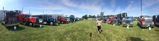 Big Rig Truck Show. Franklin Grove, Illinois.