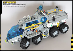 Gorgone (spaceruner) Tags: lego space moc car vehicle rig