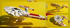 lego Star Trek Enterprise . (peter-ray) Tags: lego star trek enterprice moc space peter ray samsung giocattolo toy shi fi fantascienza ship ufo movie nx2000 toys plastic brick afol italy