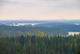View from Niittylahti Tower