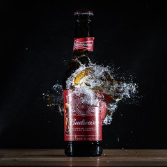 No More Bud (g3az66) Tags: nomorebud miops strobist yn560iv budweiser beer highspeedphotography