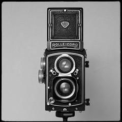 My Rolleicord V (Tony Joness) Tags: rollei rolleicord bw bnw blackandwhite blackwhite dxophotolab dxo twinlensreflex tlr camera omdem10 olympus microfourthirds