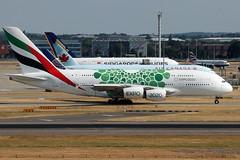 Airbus A380 Emirates A6-EOW (NTG842) Tags: airbus a380 emirates a6eow expo2020 dubai uae