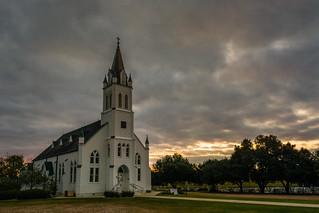 St. John the Baptist Catholic Church - Ammannsville, Texas
