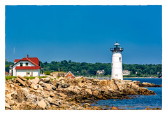 Portsmouth Harbor Light (Timothy Valentine) Tags: 2018 lighthouse ocean 0718 clichésaturday sky rockyshore vacation newcastle newhampshire unitedstates us