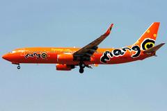Mango | Boeing 737-800 | ZS-SJL | Johannesburg International (Dennis HKG) Tags: mango mno je aircraft airplane airport plane planespotting johannesburg faor jnb ortambo fajs southafrica boeing 737 737800 boeing737 boeing737800 zssjl