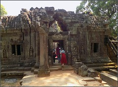 Angkor, Ta Som Temple 20180203_105037 DSCN2629 (CanadaGood) Tags: asia seasia asean cambodia siemreap angkor tasom temple tree sculpture building architecture archaeology people person canadagood 2018 thisdecade color colour buddhist khmer