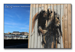 Paul Bloas 2018 - Quai Malbert ... (porte-plume) Tags: bloas brest streetart