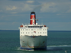 18 08 10 Stena Europe arriving Rosslare (15) (pghcork) Tags: stenaline ferry ferries carferry stenaeurope ireland wexford rosslare ships shipping