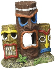 3 piece tiki head aquarium decor (mywowstuff) Tags: gifts gift ideas gadgets geeky products men women family home office