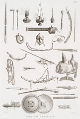 Antique illustration of gadgets and weaponry of the Mamelucchi army (1808) by Vivant Denon (1747-1825) (Free Public Domain Illustrations by rawpixel) Tags: ancient antique army armysets artwork bridle drawing equipment gadgets gear handdrawing illustrated illustration mamelucchi old publicdomain retro saddle soldier vintage vivantdenon war weapon weaponry weapons