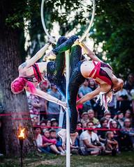 Flamma: Tulen Vuosi (2018) - EM564013 (Teemu Paukamainen) Tags: flamma tulenvuosi tapahtumienyö tampere circus cirque fire terhitavi jennamaija olympusem5 olympus75mmf18 lollipoplyra lyrapole poledance poledancing