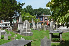 New Castle, DE - Immanuel Episcopal Church - Churchyard (jrozwado) Tags: northamerica usa delaware newcastle church episcopal immanuel