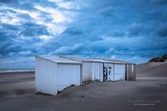 observed (ylemort) Tags: nopeople sky outdoors beach abandoned nature blue cloudsky sand winter builtstructure sea cloudscape landscape everypixel koksijde kust canon canon5dmkiv belgique belgium beautyinnature beautiful