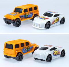 SBY-Auto-City-93520-B (adrianz toyz) Tags: plastic toy model car jsainsbury sainsburys kit adrianztoyz jeep wrangler nissan 370z adrianz toyz