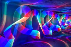 Chroma Tunnel (stephenk1977) Tags: australia queensland qld brisbane nikon d3300 light painting chromalight tunnel spectrum rainbow concentrate threeworlds c5 led rgb colour changing mixing flashlight acrylic tube