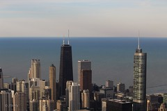 Chicago. (Thefx / Francisco) Tags: usa unitedstatesofamerica chicago illinois eeuu skyline lakemichigan lago agua water edificio building tower torre skydeck searstower 103 103rdfloor northamerica américadelnorte sears