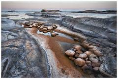Rust and silver (Petra Ries Images) Tags: samyang12mmf22 rocks landscape landschaft sweden schweden coast küste steine felsen eveninglight manualfocus manuallens nature