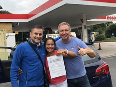 Massive congratulations  to Jelly Dechosa Bernaldes  for passing her driving test on her first attempt with only 3 minor faults!  www.leosdrivingschool.com