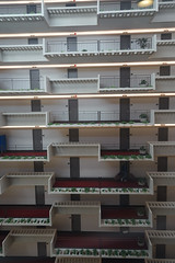 2018-08-FL-194497 (acme london) Tags: atlanta atrium balcony balustrade concrete corridor downtown foyer georgia hotel hyatt hyattregency johnportman planting railing